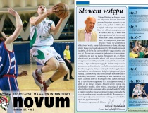 Gazetka promocyjna zrealizowana na zlecenie KKS Novum