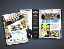 Folder z VII Festiwalu Produktów Regionalnych w Zwoleniu